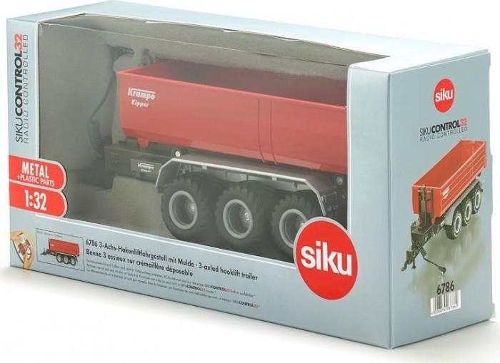 Siku Control32 6786 3-Achs Hakenliftfahrgestell mit Mulde zu Siku RC 1:32 NEU