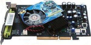 XFX GeForce 7600 GT, 256MB DDR3, 2x DVI, TV-out, AGP (PV-T73A-UDF7)