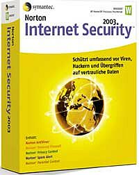 Symantec: Norton Internet Security 2003 aktualizacja (niemiecki) (PC) (10025373-GE)