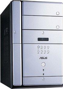 ASUS Terminator T2-R Standard mini-Tower Barebone Socket 478, dual PC3200 DDR (różne kolory)