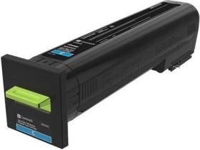 Lexmark Return Toner 82K2HC0 cyan hohe Kapazität