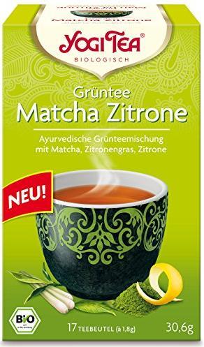 yogi tea gr ntee matcha zitrone 17 beutel eu. Black Bedroom Furniture Sets. Home Design Ideas