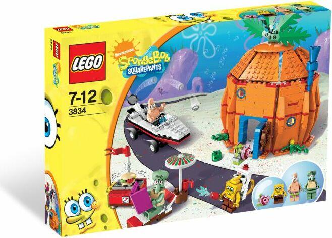 LEGO SpongeBob - Nachbarschaft in Bikini Bottom (3834) -- via Amazon Partnerprogramm