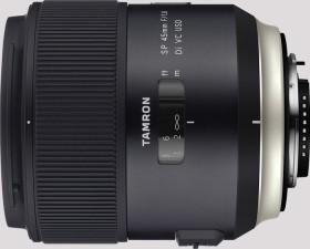 Tamron SP AF 45mm 1.8 Di VC USD für Canon EF schwarz (F013E)
