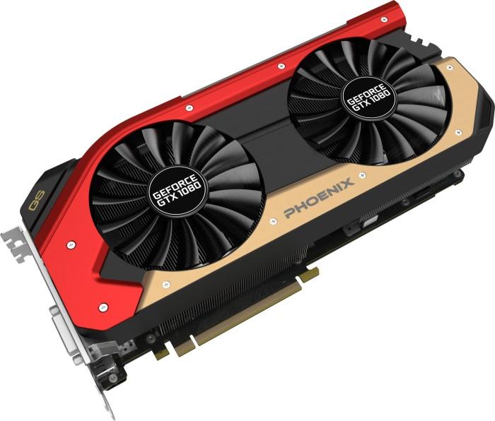 Gainward GeForce GTX 1080 Phoenix golden Sample, 8GB GDDR5X, DVI, HDMI, 3x DisplayPort (3644)