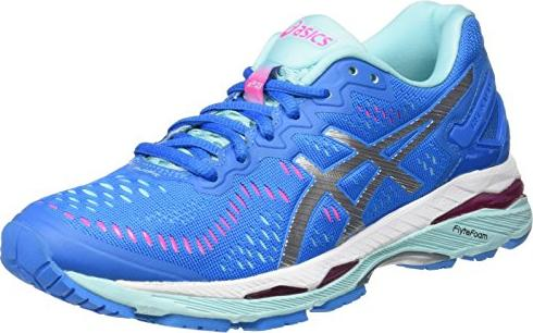 Asics Gel-Kayano 23 diva blue/silver/aqua splash (Damen) (T696N-4393)