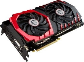 MSI GeForce GTX 1080 Gaming X 8G, 8GB GDDR5X, DVI, HDMI, 3x DP (V336-001R)