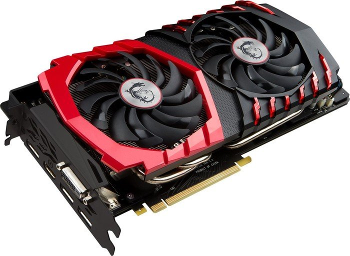MSI GeForce GTX 1080 Gaming X 8G, 8GB GDDR5X, DVI, HDMI, 3x DisplayPort (V336-001R)