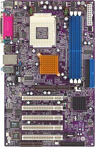 Elitegroup ECS-748-A, SiS748 (PC-3200 DDR)