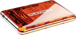BestMedia Platinum MyDrive transparent orange 500GB, USB-A 3.0 (103836)