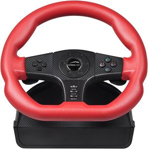Speedlink carbon GT Racing Wheel (PC/PS3/PS2) (SL-4494-SRD/SL-6694-SRD)