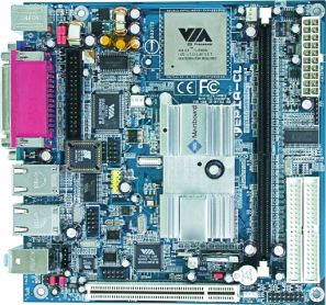 VIA (VPSD) EPIA CL6000, Mini-ITX (DDR)