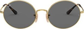 Ray-Ban RB1970 Oval 1970 54mm gold/dark grey classic (RB1970-9150B1)