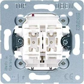 Jung Doppel-Taster 10A 250V (535 U)
