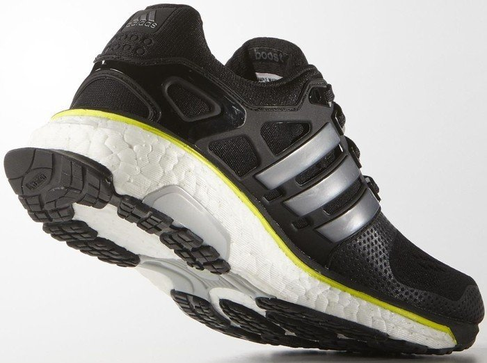 adidas Energy Boost ESM core blacksolar yellow (Herren