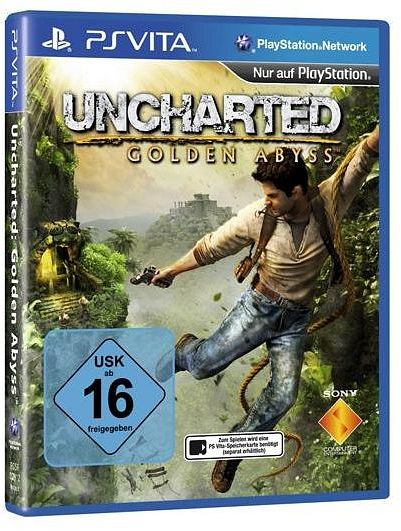 Uncharted: Golden Abyss (deutsch) (PSVita)
