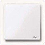 Merten System M Wippe IP44 Thermoplast brillant, aktivweiß (432025)