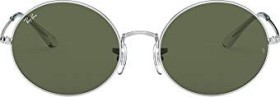 Ray-Ban RB1970 Oval 1970 54mm silver/green classic (RB1970-914931)