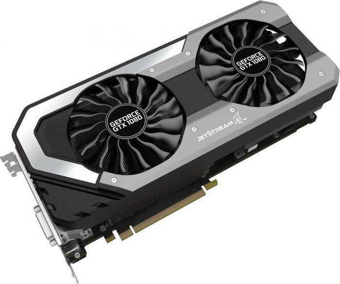 Palit GeForce GTX 1080 Super JetStream, 8GB GDDR5X, DVI, HDMI, 3x DisplayPort (NEB1080S15P2J)