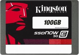 Kingston SSDNow E50 SSD 100GB, SATA (SE50S37/100G)