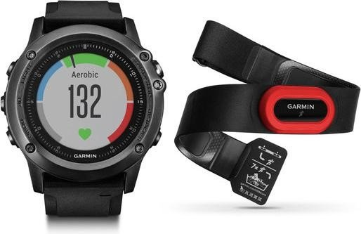 Garmin Fenix 3 sapphire HR black/grey - Performer Bundle (010-01338-74)