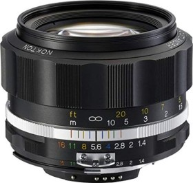 Voigtländer SL II Nokton S 58mm 1.4 for Nikon F black