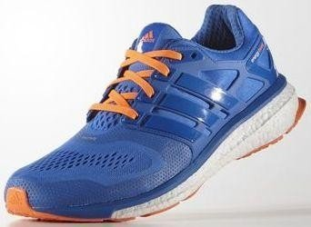new photos arrives lowest discount adidas Energy Boost ESM blue/solar orange (men) (B23152) from £ 126.33