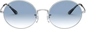 Ray-Ban RB1970 Oval 1970 54mm silver/light blue gradient (RB1970-91493F)