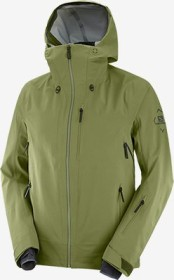 Salomon Outlaw 3L Shell Skijacke martini olive/olive night/ebony (Herren) (C14189)