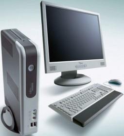 Fujitsu Futro S400, Geode NX 1500 1.00GHz, 256MB RAM, 128MB Flash (GER-522760-001)