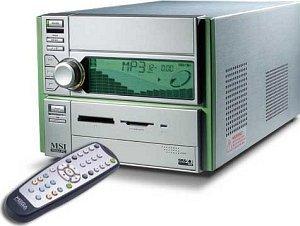 MSI MegaPC 400 Barebone, KM400 (Sockel A/200MHz/2.1GHz/PC3200 DDR) (MS-6253)