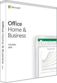 Microsoft Office 2019 Home and Business, PKC (italienisch) (PC/MAC) (T5D-03209)