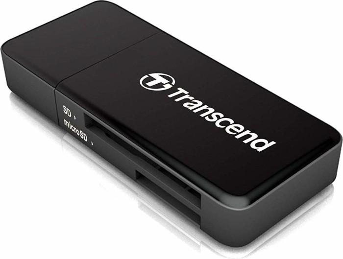 Transcend F5 schwarz, USB 3.0 (TS-RDF5K)