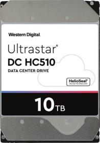 Western Digital Ultrastar DC HC510 10TB, 4Kn, SE, SATA 6Gb/s (HUH721010ALN604 / 0F27609)