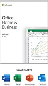 Microsoft Office 2019 Home and Business, PKC (English) (PC/MAC) (T5D-03216/T5D-03308)
