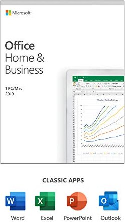 Microsoft Office 2019 Home and Business, PKC (englisch) (PC/MAC) (T5D-03216/T5D-03308) -- via Amazon Partnerprogramm
