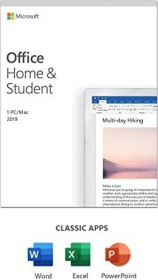 Microsoft Office 2019 Home and Student, PKC (English) (PC/MAC) (79G-05033)