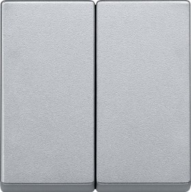Merten System M Wippe Thermoplast edelmatt, aluminium (433560)