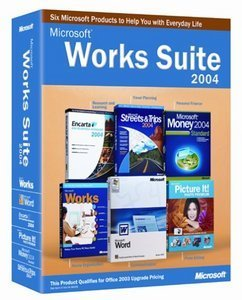 Microsoft: Works Suite 2004 (angielski) (PC) (B1100865)