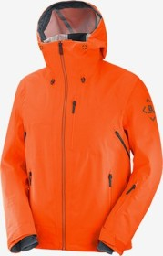 Salomon Outlaw 3L Shell Skijacke red orange/ebony (Herren) (C14191)