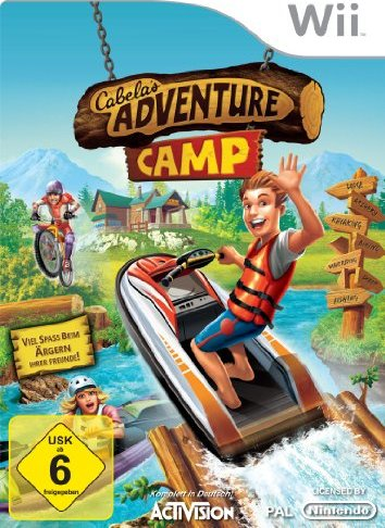 Cabela Adventure Camp (deutsch) (Wii) -- via Amazon Partnerprogramm