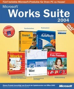 Microsoft: Works Suite 2004 (DVD) (PC) (B11-00874)