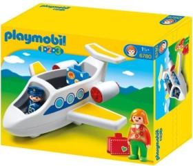 playmobil 1.2.3 - Passagierflugzeug (6780)