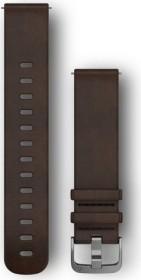 Garmin Schnellwechsel Ersatzarmband 20mm Leder dunkelbraun Large (010-12691-01)