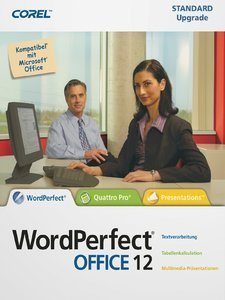 Corel: WordPerfect Office 12.0 aktualizacja (PC) (WP12GERPCUG)