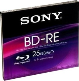 Sony BD-RE 25GB, Jewelcase (BNE25SL)