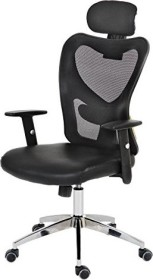 Mendler Atlanta Bürostuhl, schwarz/grau