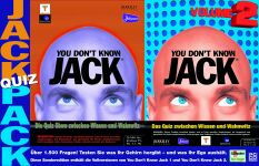 You Don't know Jack Quiz Pack (1+2) (niemiecki) (PC)