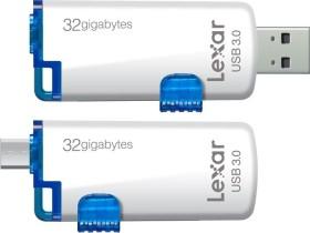 Lexar JumpDrive M20 32GB, USB-A 3.0/USB 2.0 Micro-B (LJDM20-32GBBEU)