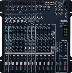 Yamaha MG166CX-USB analog mixer